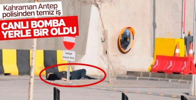 Gaziantep Emniyet Müdürlüğü'ne saldıran terörist öldürüldü