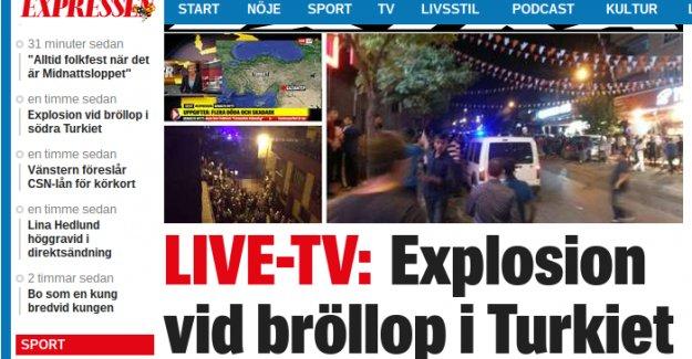 Gaziantep'te hain saldırı...