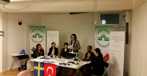 Handen Camii'sinden, İsveç'te  ücretsiz hukuk danışmanlığı hizmeti...FOTO