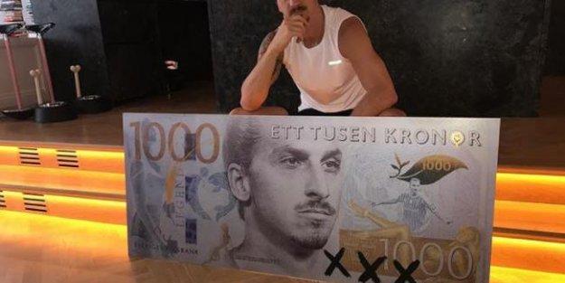 Ibrahimovic artık İsveç parasının bir parçası