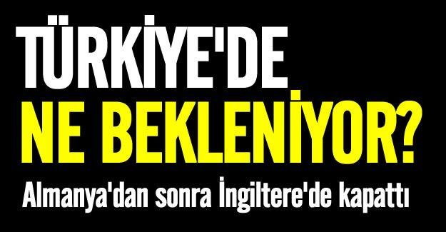 İngiltere'de Ankara'daki büyükelçiliğini kapattı!