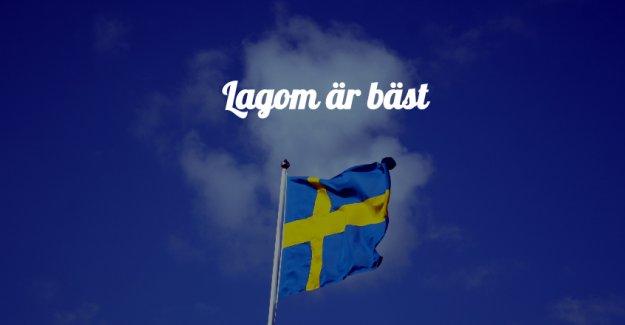 İsveç atasözü ömrü 10 yıl uzatıyor: lagom är bäst