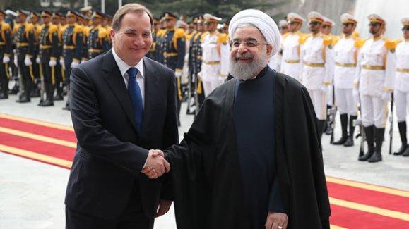 İsveç Başbakanı'na İran'da resmi tören