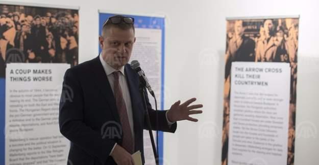 """İsveç Büyükelçiliği'nden """"Raoul Wallenberg"""" sergisi"""