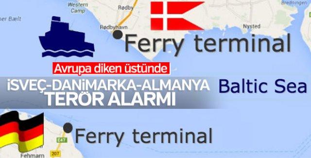 İsveç, Danimarka ile Almanya arasındaki feribot seferleri durdu