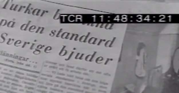İsveç devlet televizyonu SVT'de 53 yıl önceki Türklerin sorunları
