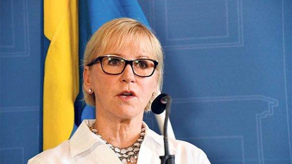 İsveç Dışişleri Bakanı Wallström,  Arakan'a gidiyor