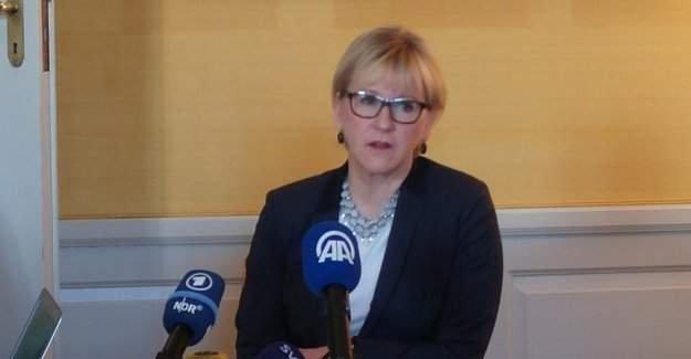 İsveç Dışişleri Bakanı Wallström cinsel tacize uğradığını açıkladı