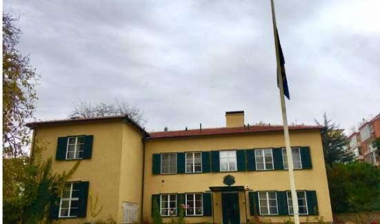 İsveç'in Ankara Büyükelçiliği'nden Atatürk'e büyük saygı