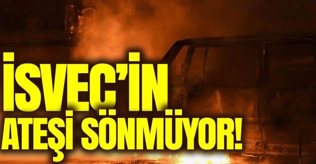 İsveç'in ateşi sönmüyor!