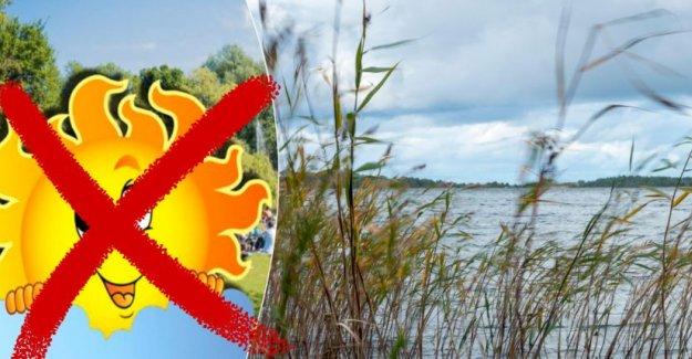 İsveç'in havası bozdu