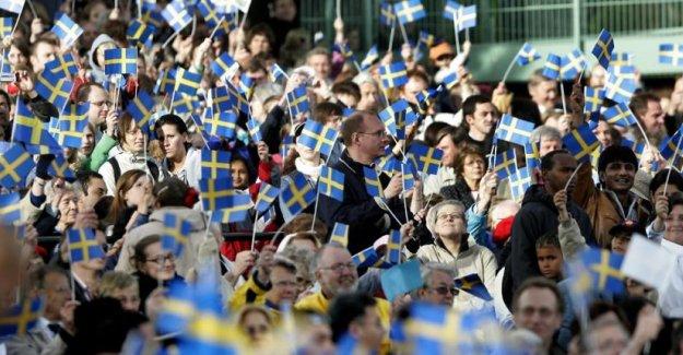 İsveç'in nüfusu hızla artıyor