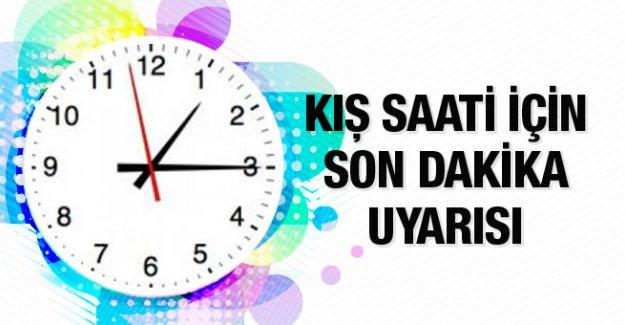 İsveç'le Türkiye arasındaki saat farkı yarın ikiye çıkıyor....