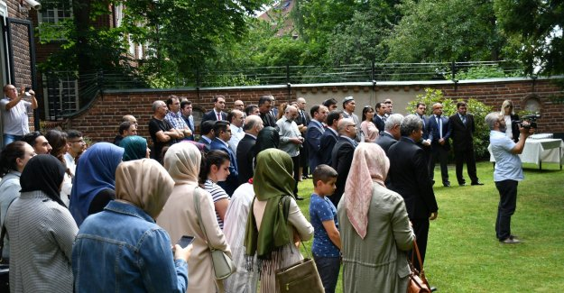 İsveç'te 15 Temmuz Demokrasi ve Milli Birlik Günü Etkinliği Düzenlendi
