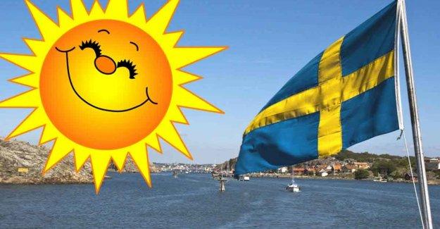 İsveç'te 250 yıllık rekor sıcak