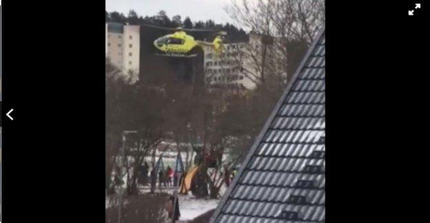 İsveç'te bir kişi göğsünden bıçaklandı