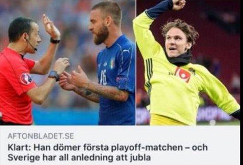 İsveç'te Cüneyt Çakır sevinci..