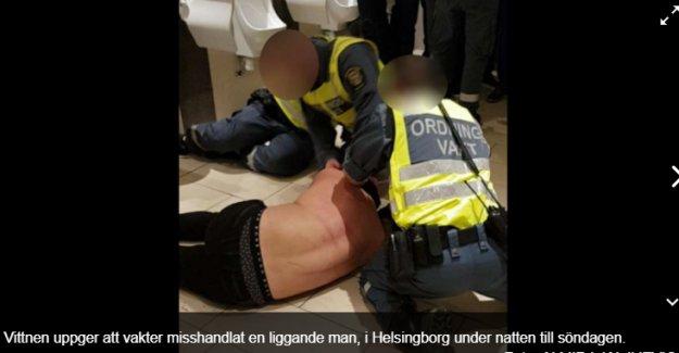 İsveç'te güvenlik güçleri öldürülesiye dövdü