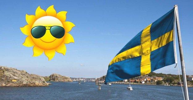 İsveç'te hava sıcaklığı artacak