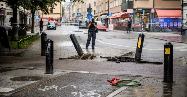 İsveç'te kamyonet yayaların üzerine sürücü yakalandı