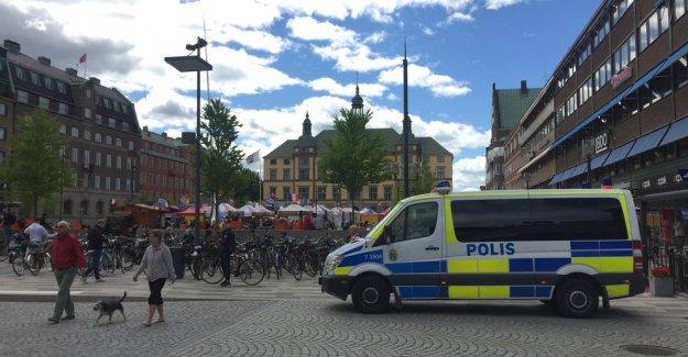 İsveç'te kamyonlu terör paniği