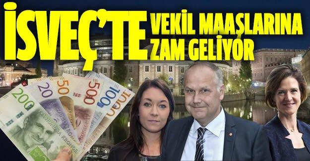 İsveç'te milletvekili maaşlarına zam geliyor