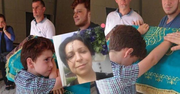 İsveç'te hayatını kaybeden gurbetçi kadın, İstanbul'da toprağa verildi