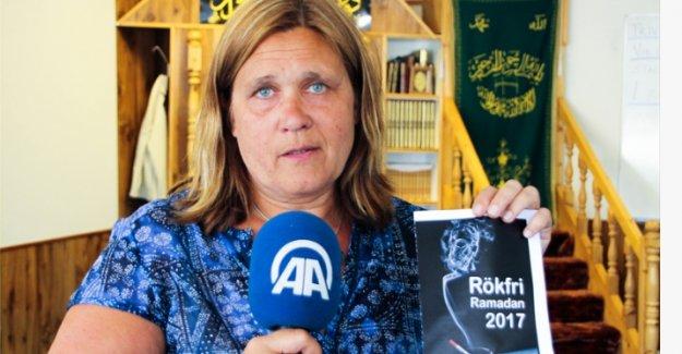 İsveç'te 'Ramazan'da sigarayı bırak' kampanyası