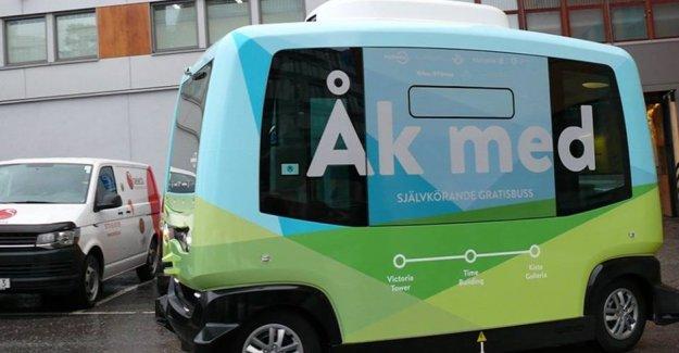 İsveç'te sürücüsüz minibüsler gelecek ay sefere başlayacak