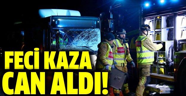 İsveç'te trafik kazası can aldı