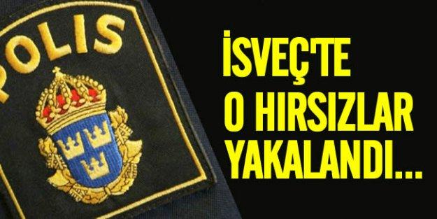 İsveç'te yaşlıları hedef alan hırsızlar yakalandı