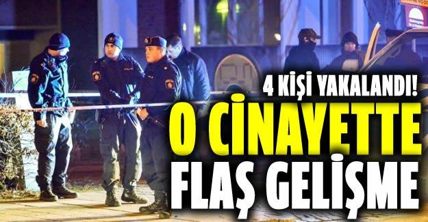 İsveç'teki o cinayette Flaş gelişme