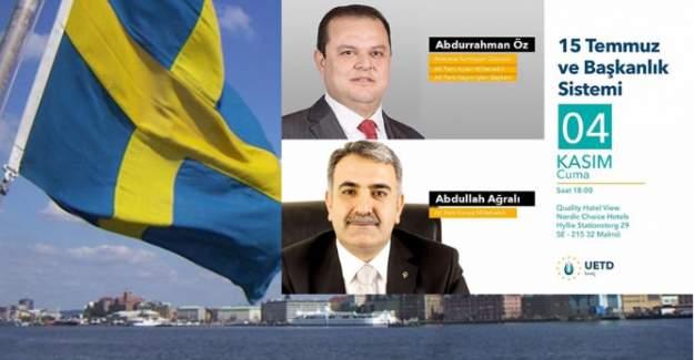 İsveç'te aynı senaryo! UETD'nin programı yine iptal edildi
