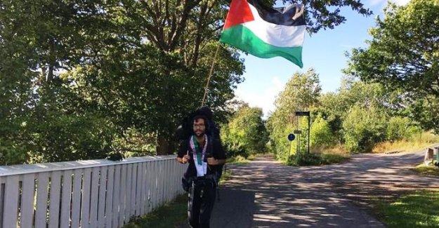 İsveç'ten Filistin'e yürüyen aktivist: İnsanlara mesaj vermek istiyorum