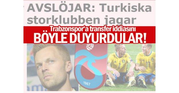 İsveç'ten Trabzonspor iddiası... Sebastian Larsson