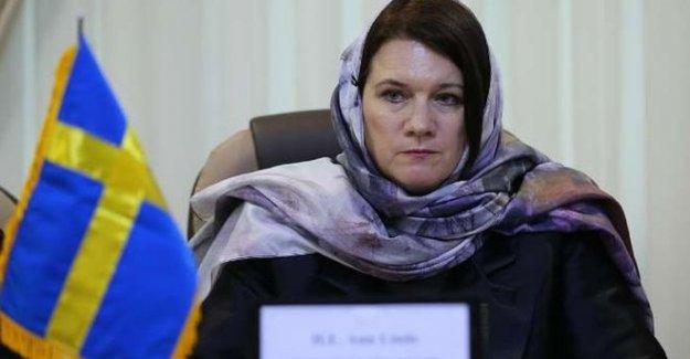 İsveç  Ticaret Bakanı Ann Linde ve 10 iş adamı Filistin'e gitti