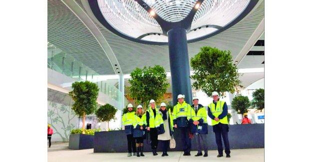 İsveç ve Danimarka Büyükelçisi 3. Havalimanına hayran kaldı