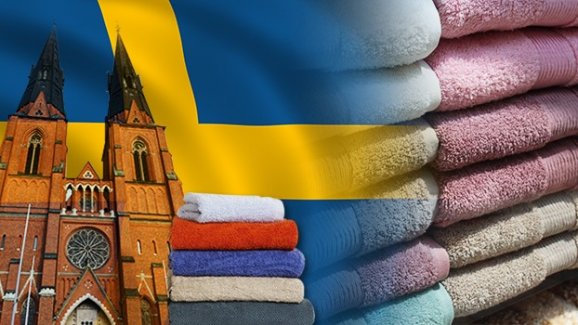 İsveç'in ünlü markaları için logolu havlu ürettirmek istiyor