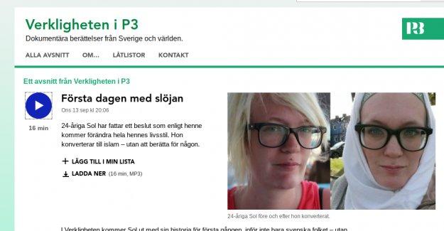 İsveçli 24 yaşındaki Sol huzuru İslam'ad buldu