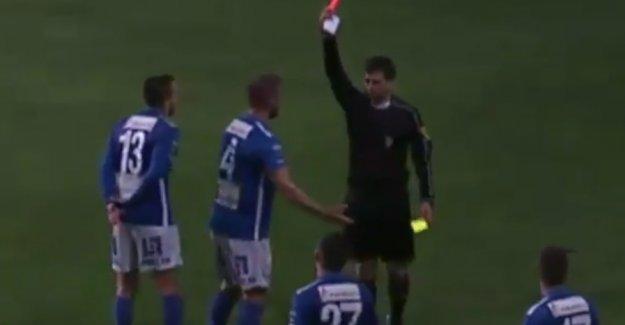 İsveçli Futbolcu, Gol Sevincinde Oyundan Atıldı