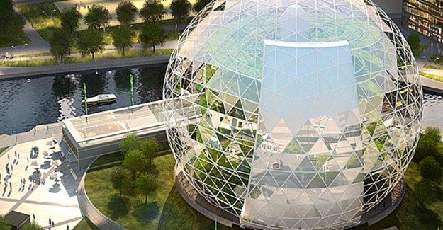 İsveç'li mimarlık firması dikey çiftlik ve ofis konsepti geliştirdi