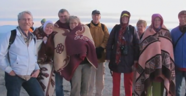 İsveçlilerden,  klarnet eşliğinde nefis Türkiye Videosu