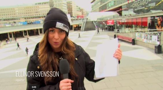 İsveçlilere zor coğrafya sorusu...VİDEO