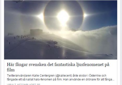 İsveçlinin çektiği güneş videosu sosyal medyayı salladı...VİDEO