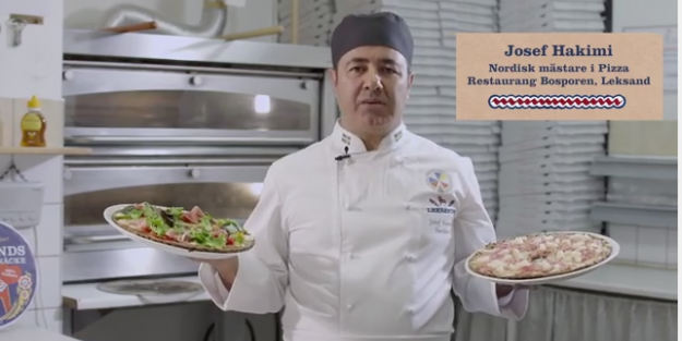 İsveç'te buda oldu! Kıtır ekmekten diyet pizza piyasada...VİDEO