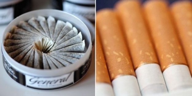 İsveç'te sigara ve Snuse zam!
