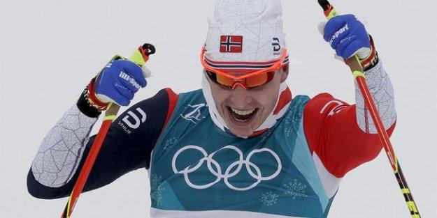 Kayaklı koşuda kadınlarda İsveç erkeklerde Norveç kazandı