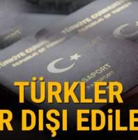 Binlerce Türk sınır dışı tehlikesiyle karşı karşıya