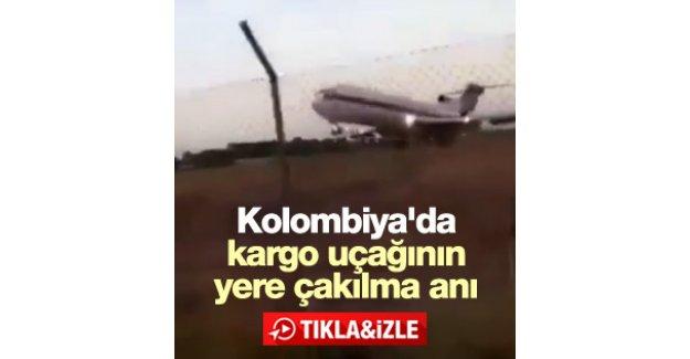 Kolombiya'da kargo uçağı düştü: 5 ölü