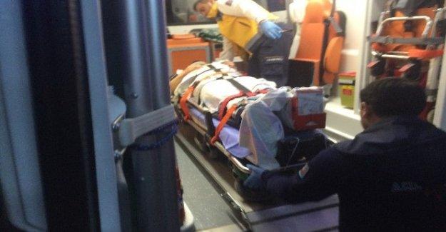 Kulu'da yük asansörü halatı koptu: 1 yaralı
